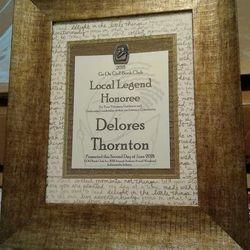 Local Legend Award