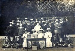 Dirleton Bowling Club, 1909.