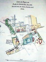 Plan of Dirleton Village, 1844.