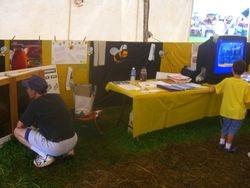 The Beekeeping Club Booth
