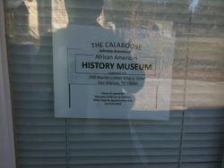 The Calaboose African American History Museum