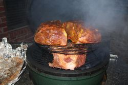 2 On The Large Green Egg