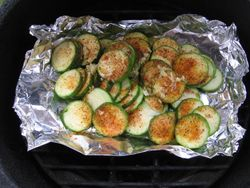Eagle Rub Grilled Zucchini