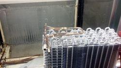 Evaporator removed