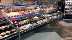 Seafood case at  HT 172