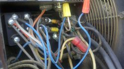 Compressor wiring