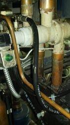 Leak on split condenser pump out