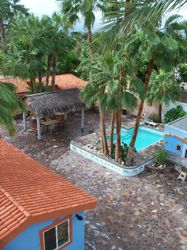 Casitas around Pool and Palapa