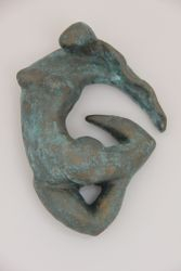 Stella- Bella -Tarantella :Medium : Resin (disguised as bronze) / Size : 15cm wide by 30cm high