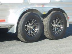 Upgraded aluminium wheels