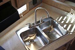 Double Sink in 7'6ft / 8ft wide trailer