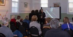 Speaking Engagment at a Senior Center