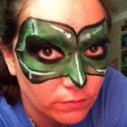 """Inspired by """"Green Lantern"""""""