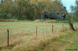 Old barn and fence