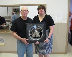 Winner of Moose Tufting - Tom G.