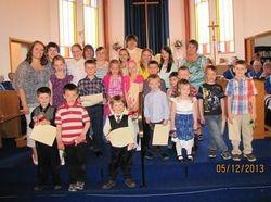 Closing of Sunday School