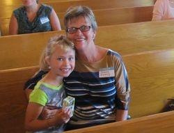 Joanne & her granddaughter, Jill