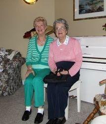 Outreach Committee & Senior Choir Visit Lohne's