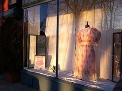 Five Women Wearing the Same Dress Window