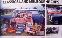 Debbie Dole's Consul Wagon & fine collection of classic picnic sets.