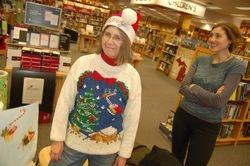 Holiday Bookwrapping at Borders