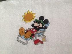 Mickey zonne