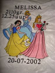 drie prinsessen design