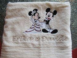 Mickey en Mini trouwen