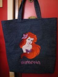 Ariel tas achterkant