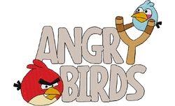 Angry bird logo 125 X 175