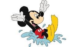 Mickey plons 128 X 151