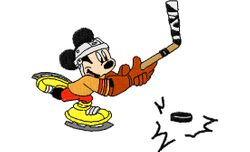 Mickey ijshocky 99 X 81