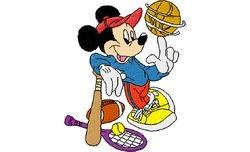 Mickey sport  79 X 99