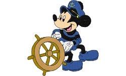Mickey kapitein 3    127 X 119