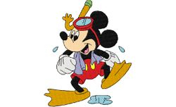 Mickey duikbril 105 X 128