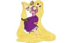 Rapunzel 1   128 X 143