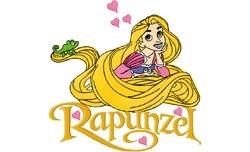 Rapunzel 5   124 X 125