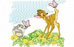 Bambi en stamper 117 x 145