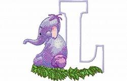 Lollifant letter L 10 X 10