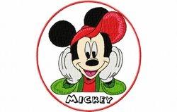 Mickey naar school 129 x 144
