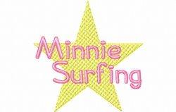 Mini surft tekst 100 x 100
