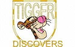 Tigger borstzakje 74 x 70