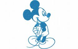 Mickey contour 93 x 142