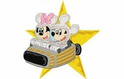 Mickey en mini maan 125 X 127