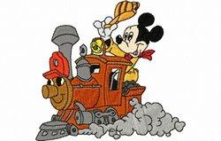 Mickey trein 99 x 93