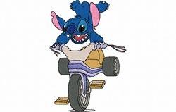 Stitch op bike 81 X 119