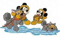 Mickey met wolf 97 x 178
