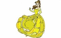 Belle dansend 129 x 173