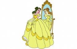 Belle voor de spiegel 159 X 236