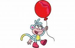 Boots met balon 67 x 97